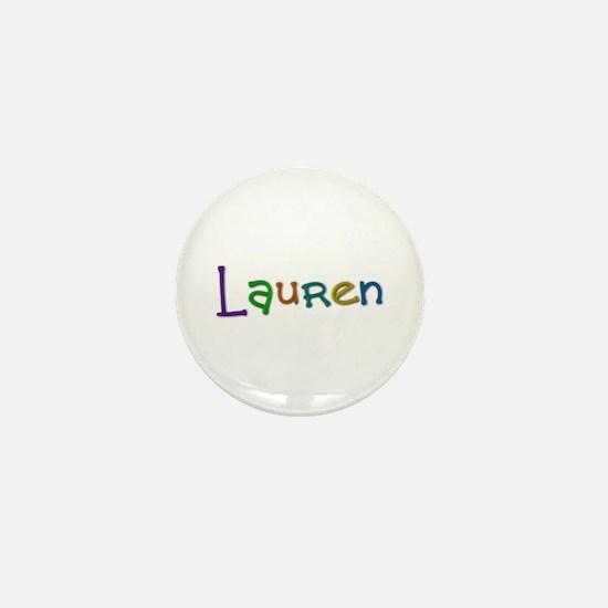 Lauren Play Clay Mini Button