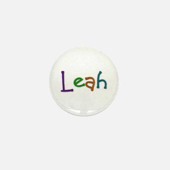 Leah Play Clay Mini Button