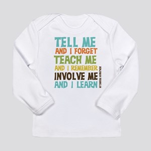 Involve Me Long Sleeve T-Shirt
