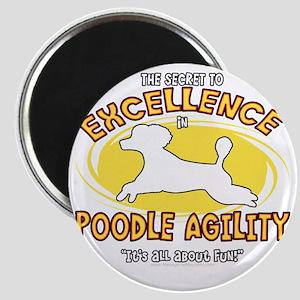 poodle_excellence_blk Magnet