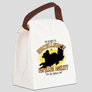 papillon_excellence Canvas Lunch Bag