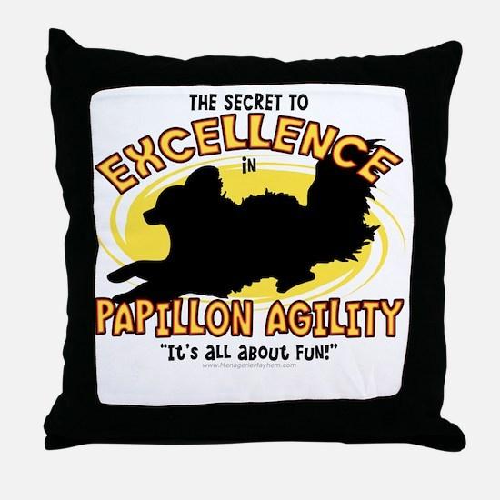 papillon_excellence Throw Pillow