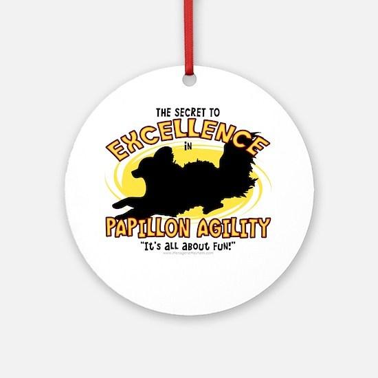 papillon_excellence Round Ornament