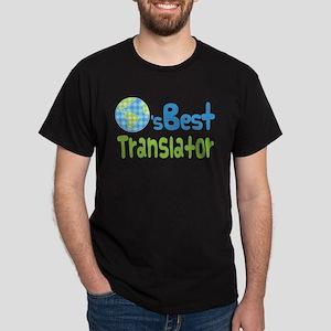 Earths Best Translator Dark T-Shirt