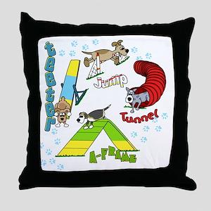 agilityfun Throw Pillow