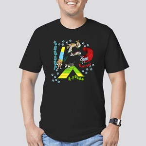agilityfun Men's Fitted T-Shirt (dark)