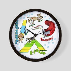 agilityfun Wall Clock