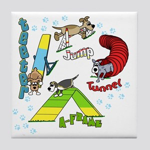 agilityfun Tile Coaster