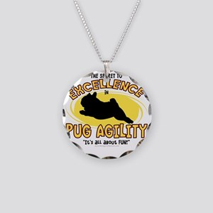 pug_excellence Necklace Circle Charm