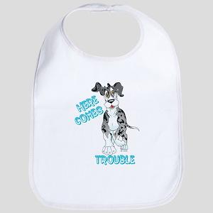 MtlMrl Trouble Pup Bib