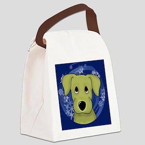yellowlab_ornament Canvas Lunch Bag