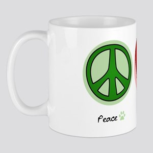 peaceloveflyball Mug