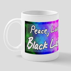 hippie_blacklab_bumper Mug