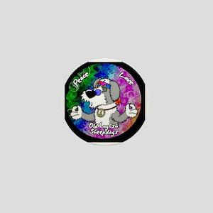 hippie_oes_ornament Mini Button