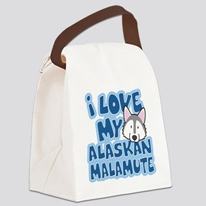 alaskanmalamute_animelove Canvas Lunch Bag