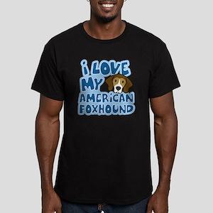 americanfoxhound_anime Men's Fitted T-Shirt (dark)