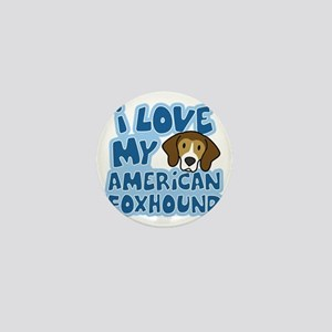 americanfoxhound_animelove Mini Button