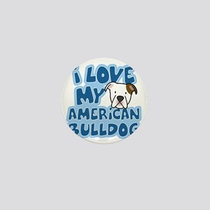 americanbulldog_animelove Mini Button