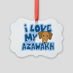 azawakh_animelove Picture Ornament