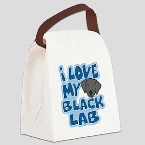 blacklab_animelove Canvas Lunch Bag