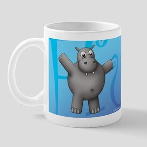 Huggable Hippo Mug