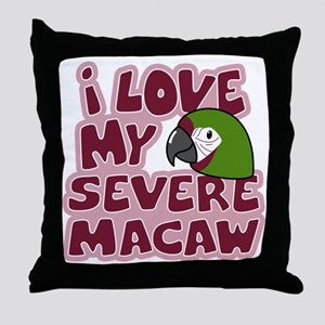 animelove_severe Throw Pillow