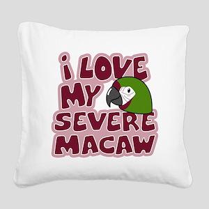 animelove_severe Square Canvas Pillow