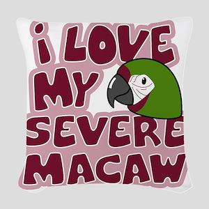 animelove_severe Woven Throw Pillow