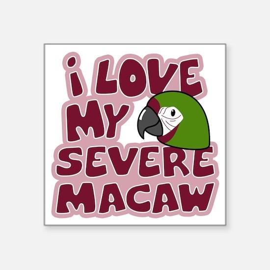 """animelove_severe Square Sticker 3"""" x 3"""""""