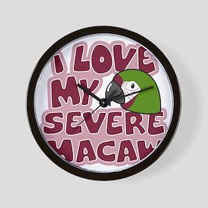 animelove_severe Wall Clock