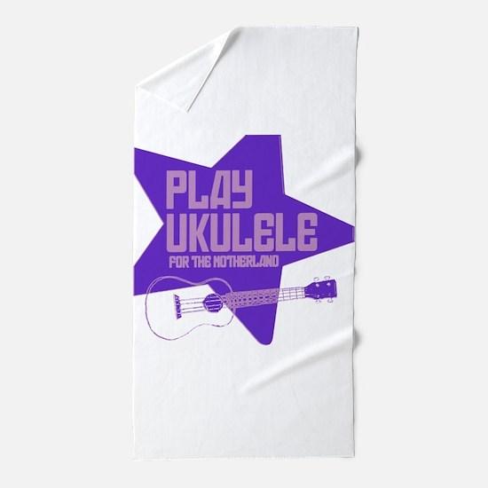 Purple 2011 Design Beach Towel