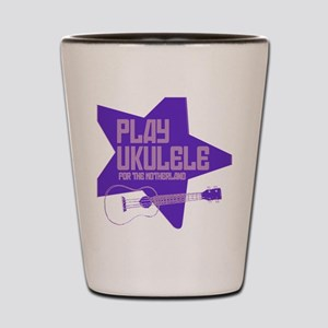 Purple 2011 Design Shot Glass