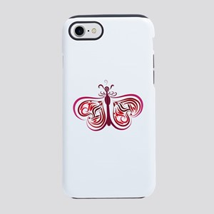 Butterfly by Leslie Harlow iPhone 7 Tough Case