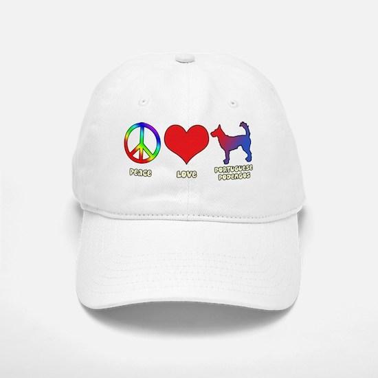 peacelove_portpodengo-wire Baseball Baseball Cap