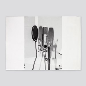Microphone recording equipment for 5'x7'Area Rug