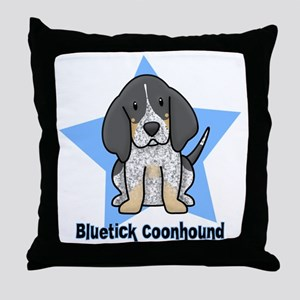 staranime_bluetick_cp Throw Pillow