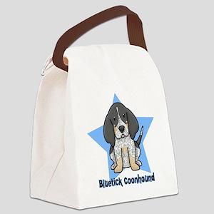 staranime_bluetick_cp Canvas Lunch Bag