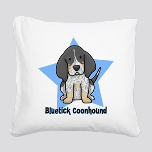 staranime_bluetick_cp Square Canvas Pillow
