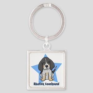 staranime_bluetick_cp Square Keychain