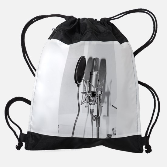 Microphone recording equipment for Drawstring Bag