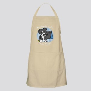 bordercollie_flyball_kawaii_blk Apron