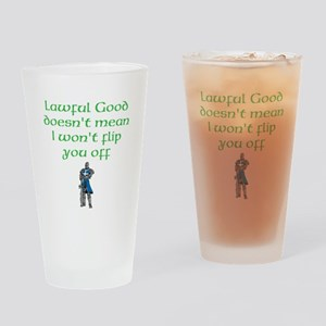 Lawful Good Drinking Glass