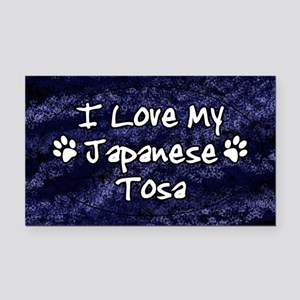 tosa_oval_funkylove Rectangle Car Magnet