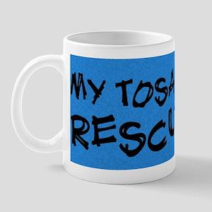 tosa_bumper_rescuedog Mug