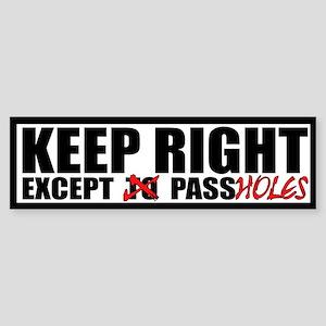 10x3 Passhole Bumper Sticker