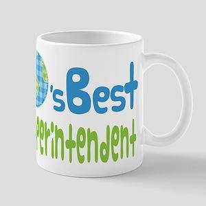 Earths Best Superintendent Mug