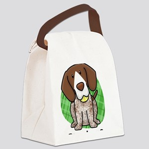 kawaii-germanshorthair Canvas Lunch Bag