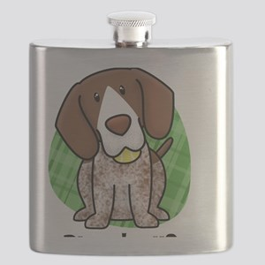 kawaii-germanshorthair Flask
