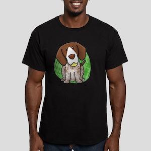 kawaii-germanshorthair Men's Fitted T-Shirt (dark)