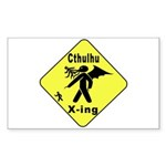 Cthulhu Crossing! Rectangle Sticker
